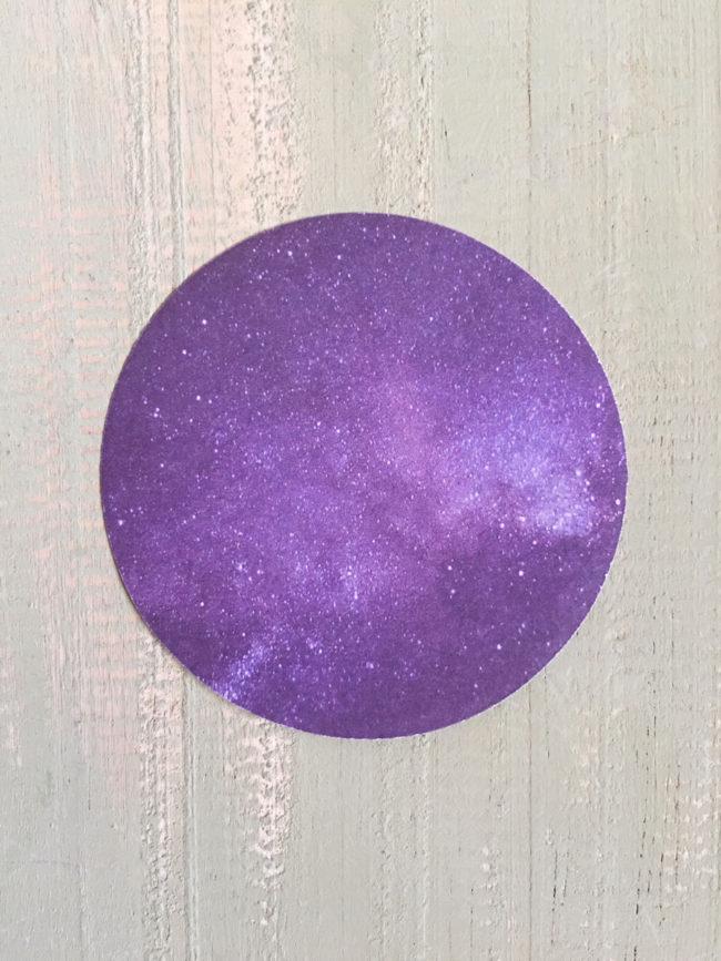 Notas adhesivas galaxia, postits galaxia, pegatinas universo, notas adhesivas universo, potits universo, pegatinas redondas galaxia