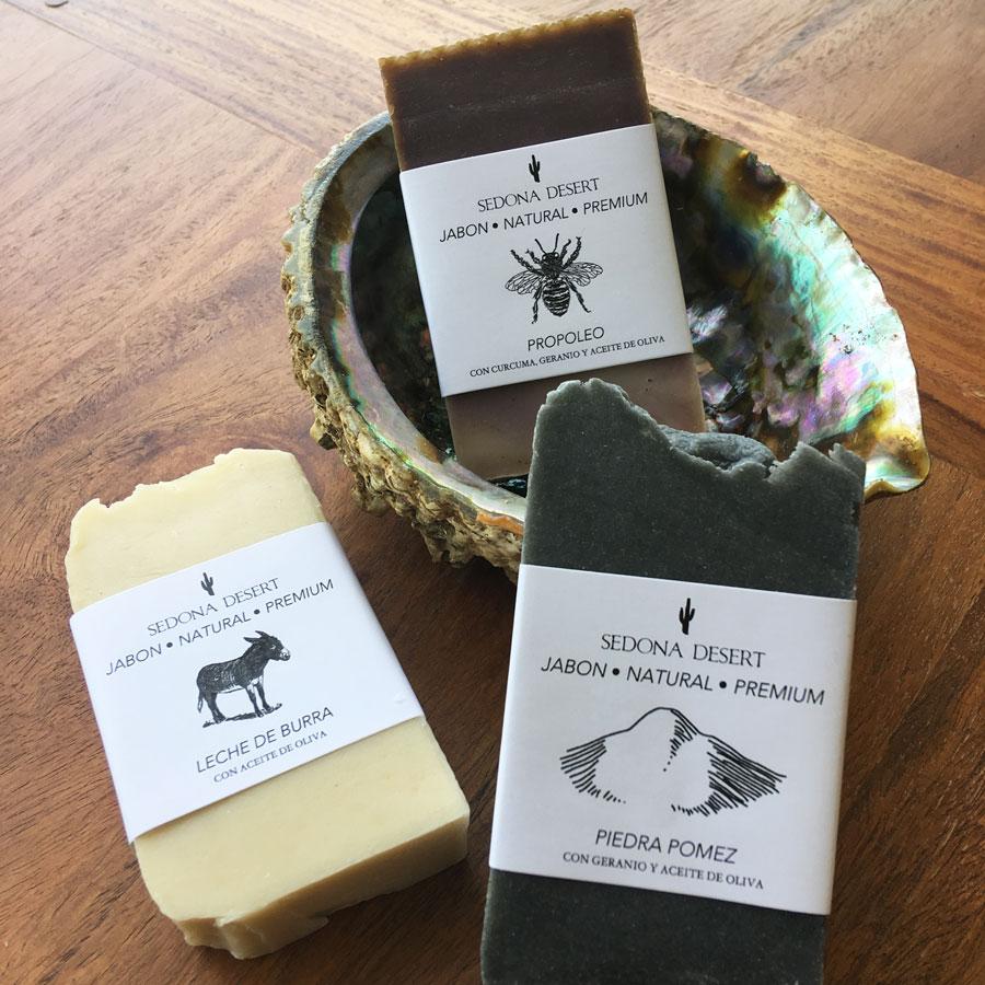 Jabón natural Vegetal