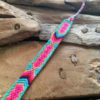 Pulsera Tribal de la Amistad rosa y azul, pulsera tejida, pulsera rosa y azul, pulsera festival, pulsera verano, pulsera coachella, pulsera tribal nativa india