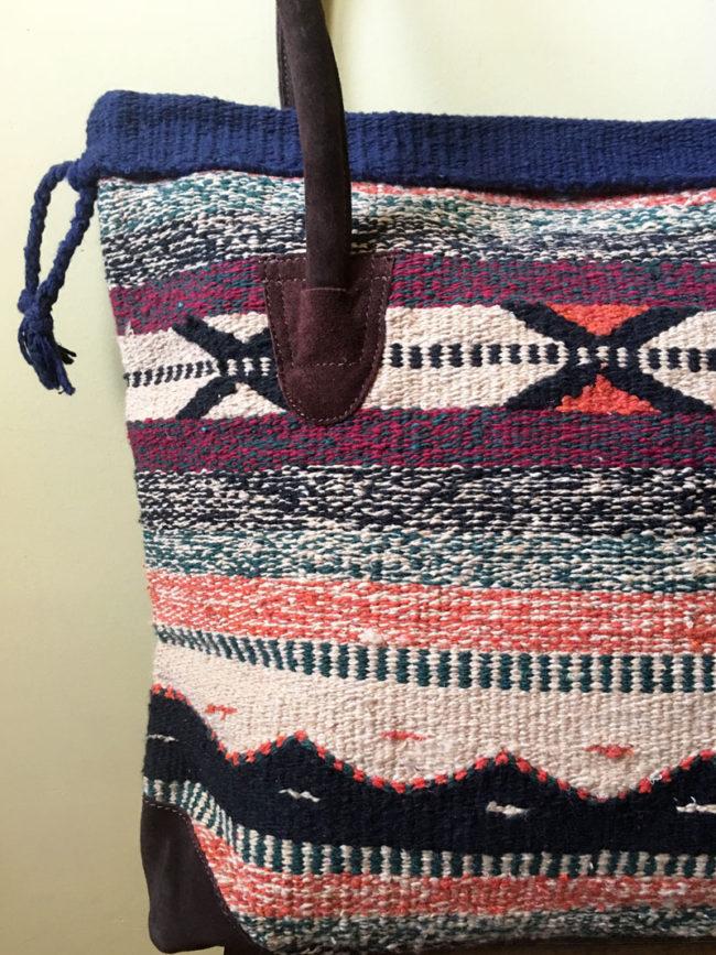 Bolso Tribal Tejido a Mano Yavapai, bolso estilo boho, bolso tribu, estilo indio, bolso estilo nativo americano, bolso estilo mexicano, bolso bohemio, bolso western, bolso hippie invierno, bolso clásico moderno, bolso tonos tierra