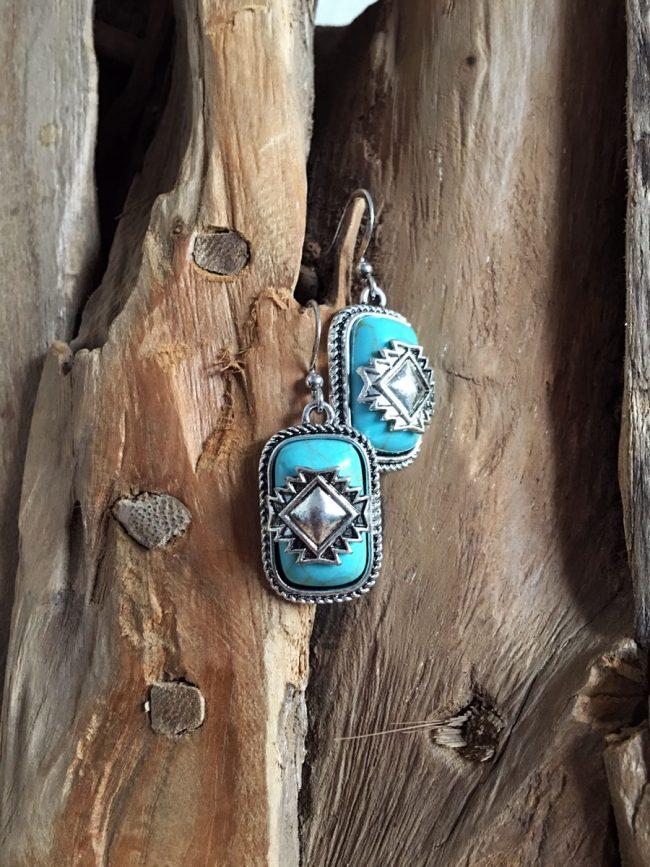Pendientes estilo suroeste Casa Grande, pendientes navajos, pendientes tribales navajo, pendientes nativo americanos, pendientes indios americanos, pendientes country, joyas country, joyas suroeste, bohochic, hippie chic, joyas hippie, moda boho, moda festival, coachella