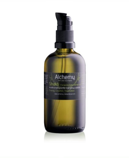 SHAKTI Aceite corporal energizante alchemy skin and soul