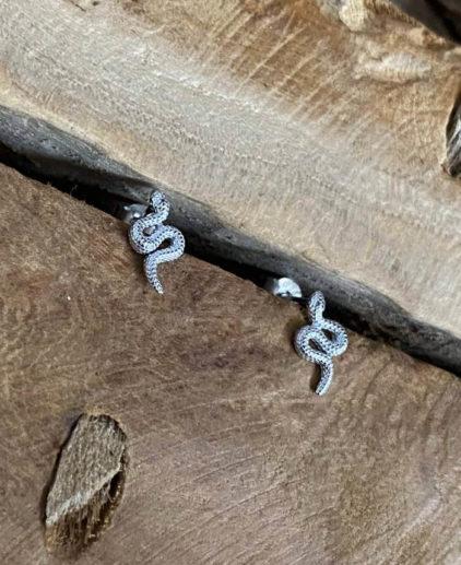 pendientes-serpiente-plata-pequeños